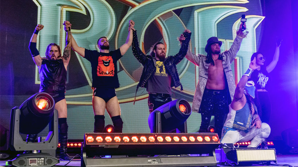 ROH Recap: LifeBlood Faces Jay Lethal's All-Star Team In Epic 10-Man Tag  Match   ROH Wrestling