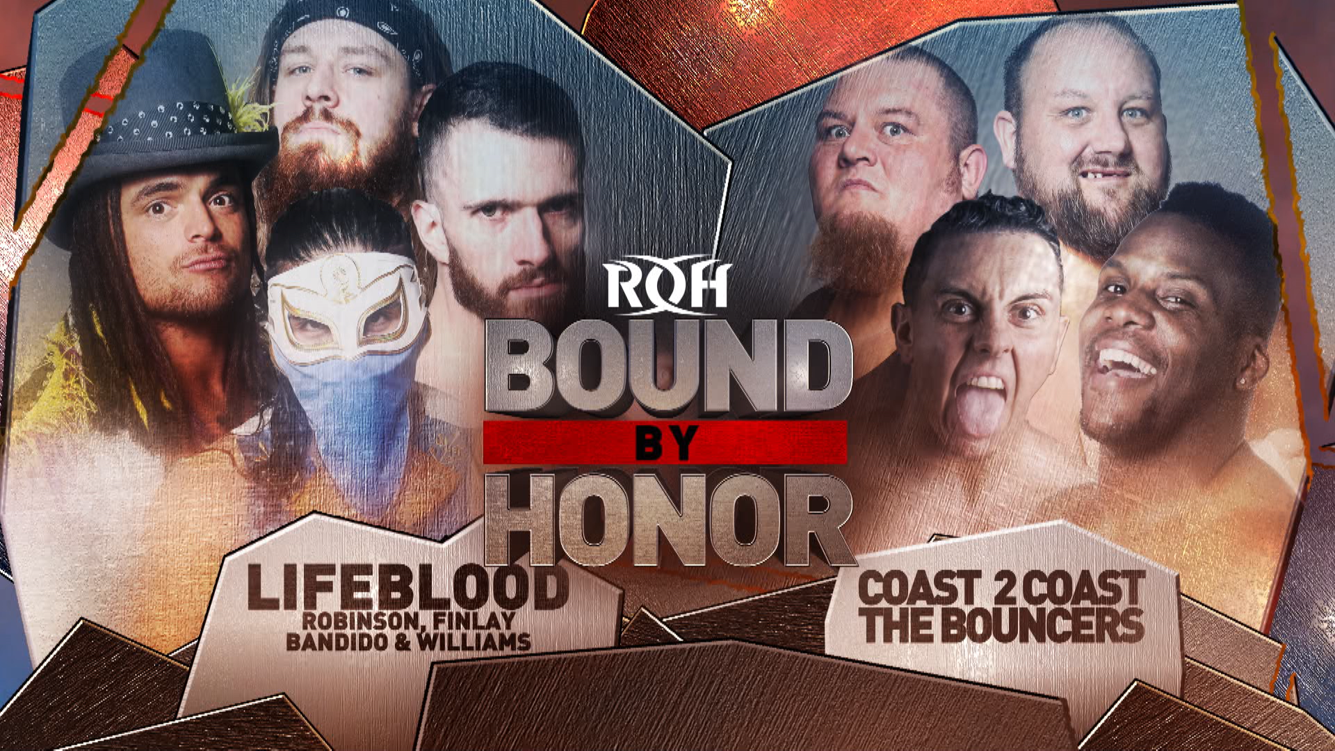 LifeBlood Competes In Eight-Man Tag Action In Miami   ROH Wrestling