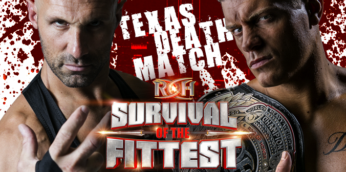 Texas Death Match for the ROH World Title Signed for Survival of ...