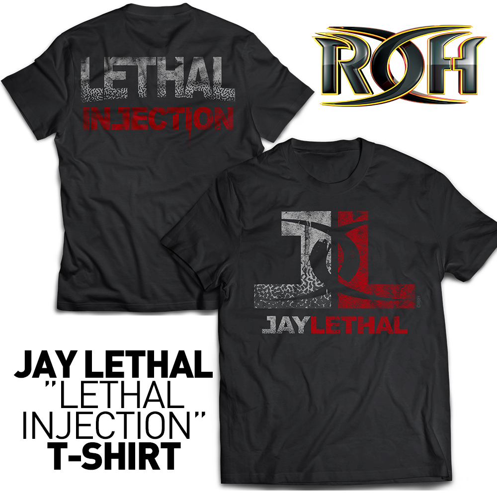 "JAY LETHAL ""LETHAL INJECTION"" T-SHIRT"