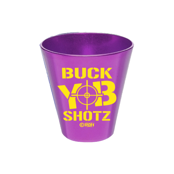 PURPLE ALUMINUM SHOT CUP - BUCK SHOT