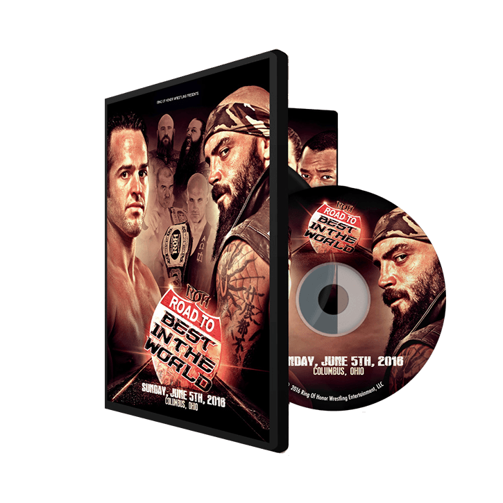06/05/16 Road to BITW - Columbus, Oh (DVD)
