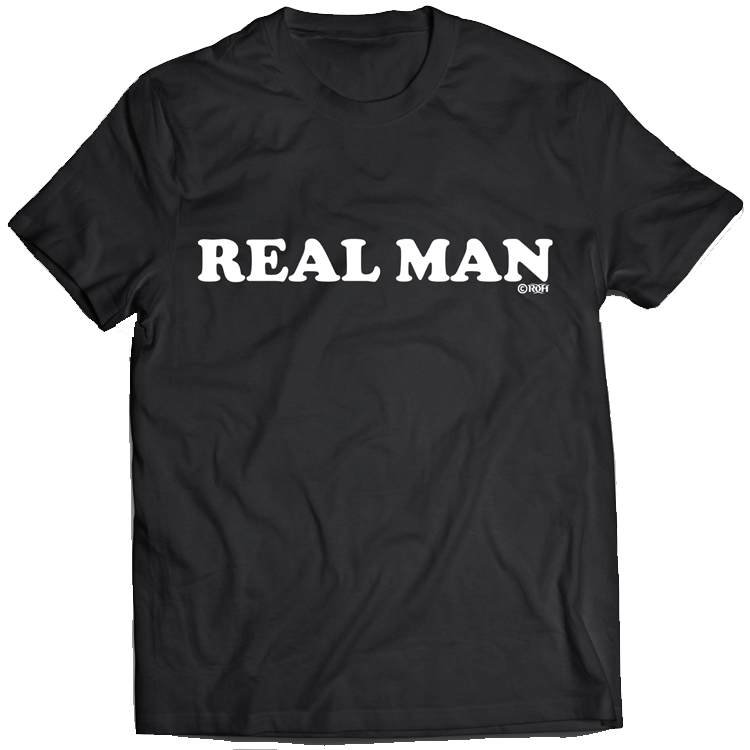 "SILAS YOUNG ""REAL MAN"" T-SHIRT"