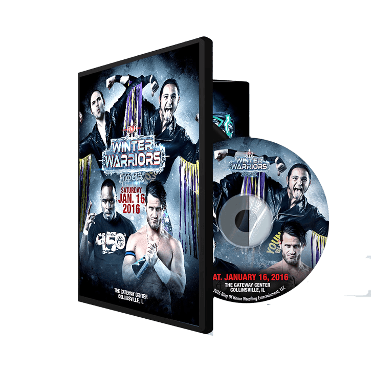 01/16/16 WINTER WARRIORS TOUR - Collinsville, IL (DVD)