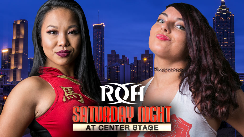 Karen Q vs Jenny Rose Goes Down In Atlanta | ROH Wrestling