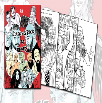 Ring of Honor Coloring Book - Volume 2 | ROH Wrestling