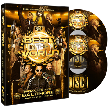 Roh Best In The World 2020.Best In The World 2019 2 Disc Set Roh Wrestling