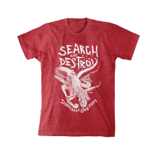 "JONATHAN GRESHAM ""SEARCH & DESTROY"" T-SHIRT"