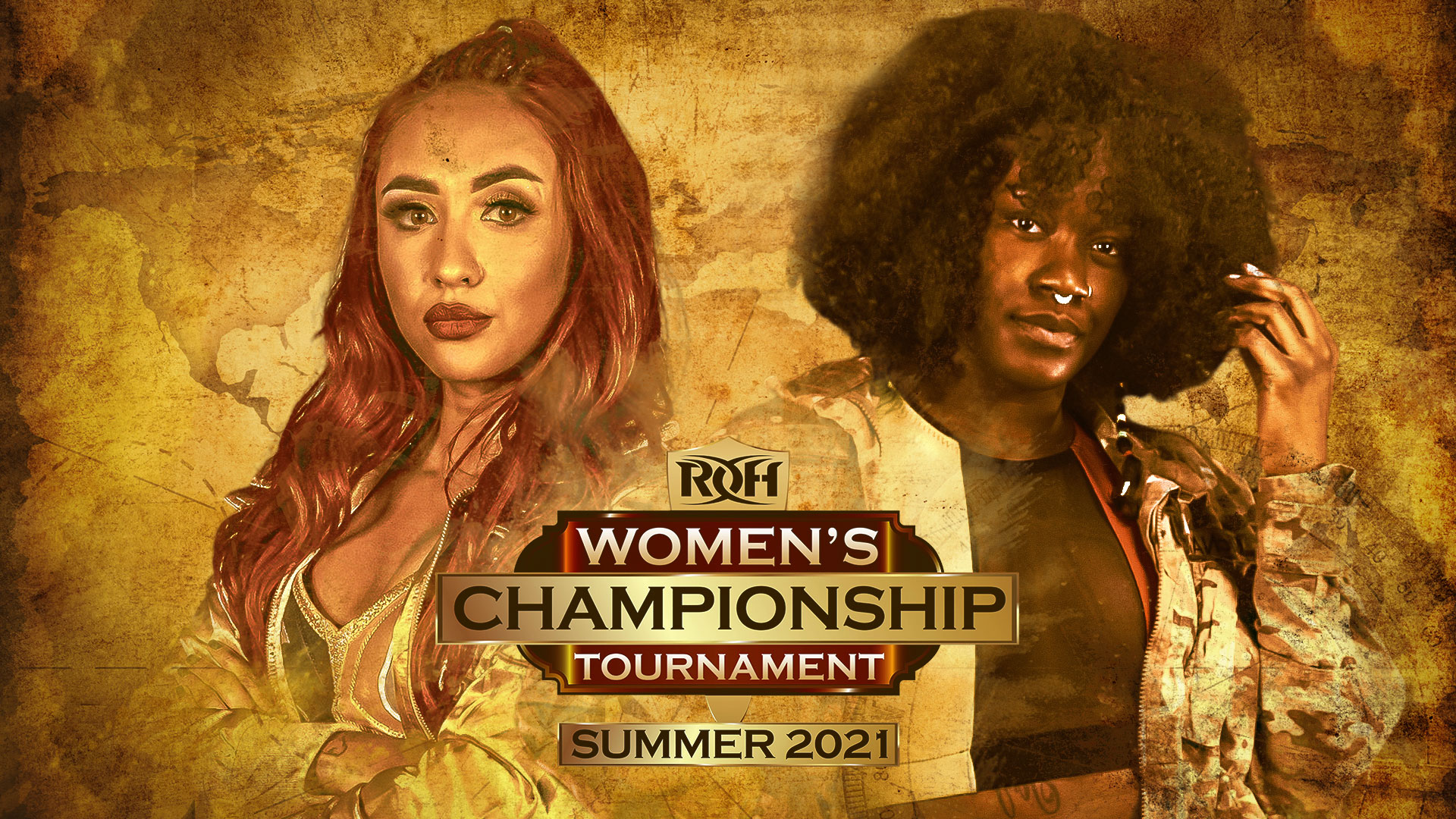 Miranda Alize And Trish Adora Earn Tickets To Gold   ROH Wrestling